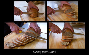 Slicing your bread
